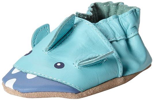 Boys' Branded Robeez Ahh Shark Crib Shoe Wholesale