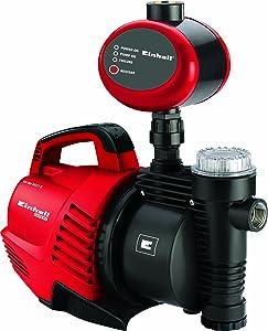 Einhell GEAW 5537 E Hauswasserautomat, 590 Watt, 3750 l/h Fördermenge, Edelstahlanschluss, Überlastschutz  BaumarktBewertungen und Beschreibung