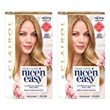 Clairol Nice 'n Easy Root Touch-Up 8 Matches Medium Blonde Shades 1 Kit, (Pack of 2) (PACKAGING MAY VARY) (Color: 8 Medium Blonde, Tamaño: 2 Count)