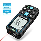 Laser Measure, Acegmet 229Ft M/In/Ft Laser Distance Measure Backlit LCD with Mute Function, Measure Distance, Area and Volume, Pythagorean Mode Laser Measuring Device with 2 Bubble Levels (Color: Blue, Tamaño: Small)