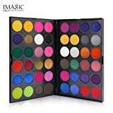 Removable Matte+Shimmer Eyeshadow Palette Hosamtel 48 Color Smoky Eye Shadows Glitter Makeup Kit Nude Waterproof Cosmetics High Pigment Powder Pallet(Earth Tone+Candy Colors for Choose) (Candy Colors) (Color: Candy Colors, Tamaño: 22.7x15x1.8CM)