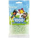 Perler Beads Fuse Beads for Crafts, 1000pcs, Green Glitter Fairy Dust (Color: Fairy Dust)
