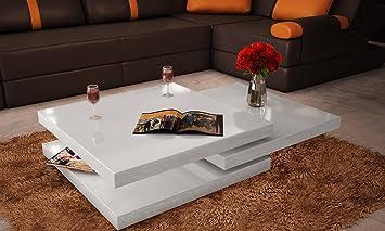 Table de salon pivotante blanche Prices! - snrlnoii-42