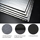 Guteauto 236 mil 15 sqft Sound Deadening Deadener Insulation Mat Automotive Deadener Wall Soundproofing Foam Panels 55
