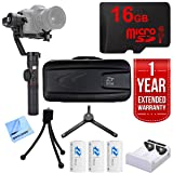 Zhiyun Crane 2 Professional 3-Axis DSLR Camera Stabilizer with 1 Year Extended Warranty Plus 16GB Accessories Bundle