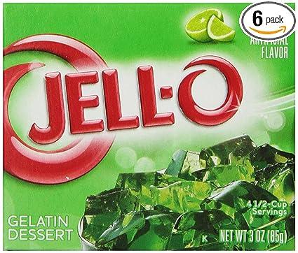 Jello Gelatin Dessert Jell o Gelatin Dessert Lime