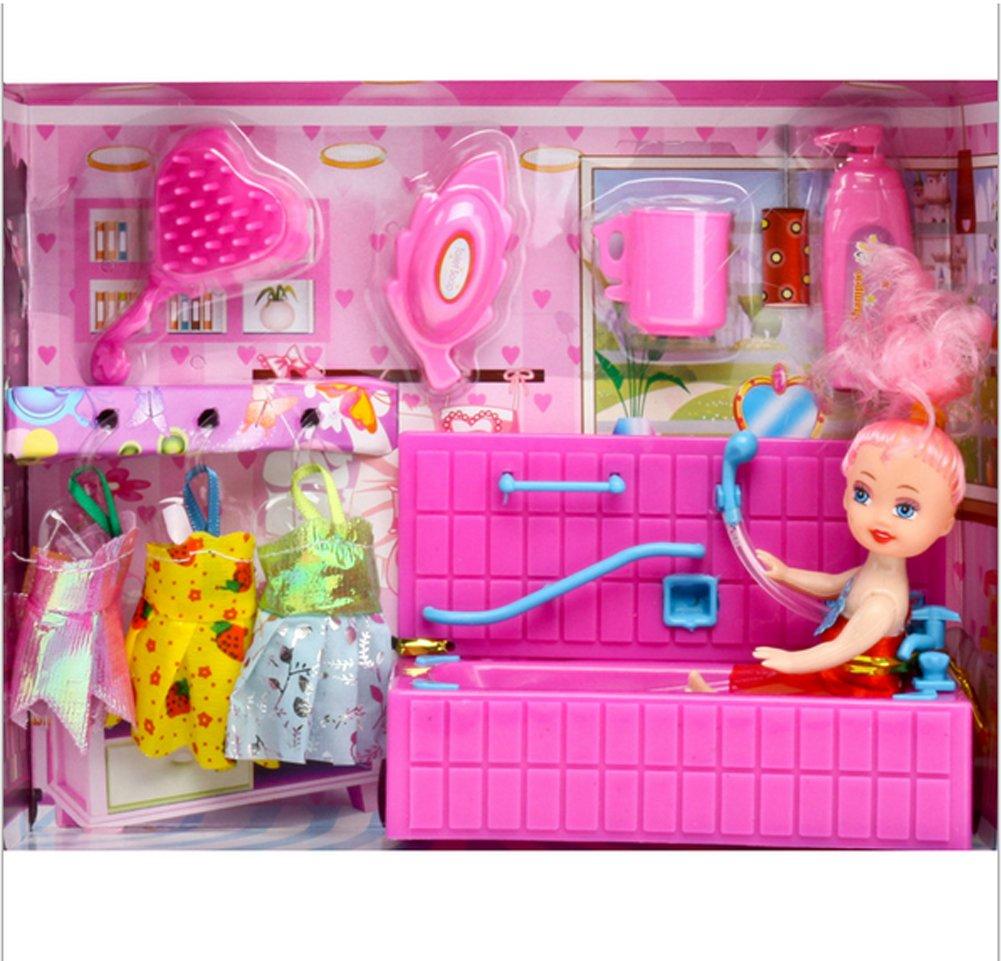 YSL Puppe Schüttler / Pool / Schaukelpferd Cartoon Barbie Anzug neuen Ultra-Low-Cost (shaker)