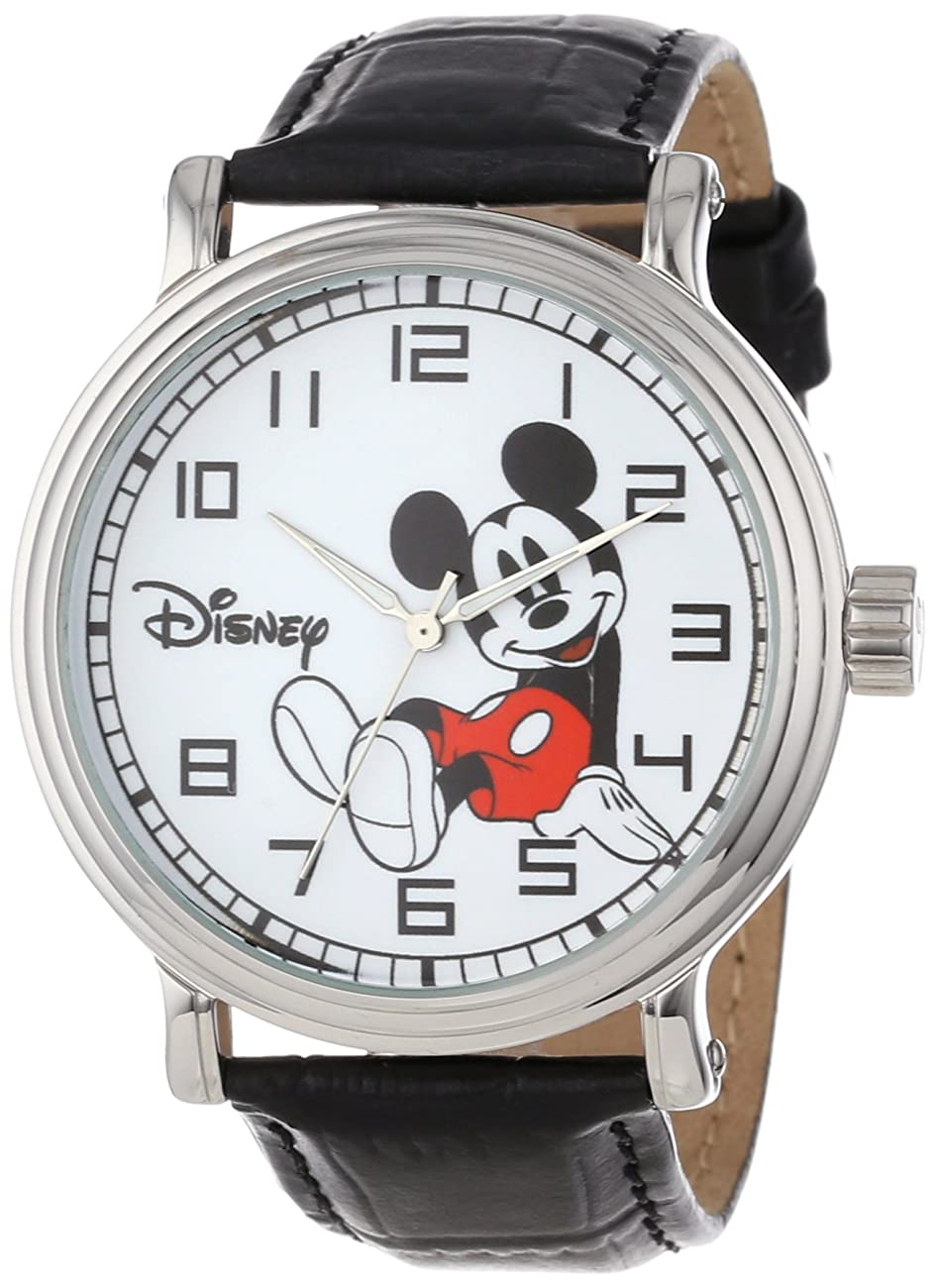 Disney Men's W000531 Mickey Mouse Vintage Watch 0