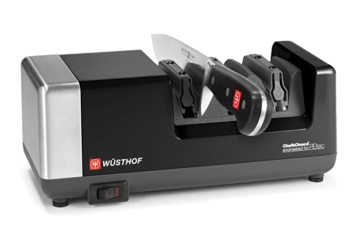 Wusthof Black 3-stage Chef's Choice PEtec Electric Knife Sharpener Via Amazon
