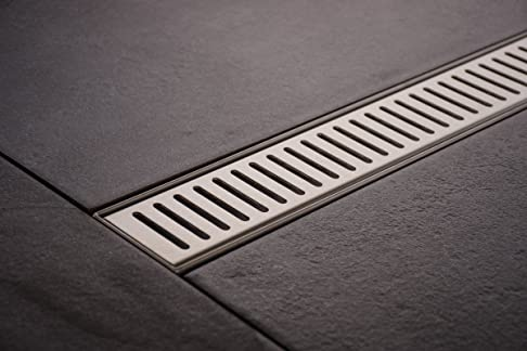 Doccia Rinne pinara 1400mm in acciaio inox