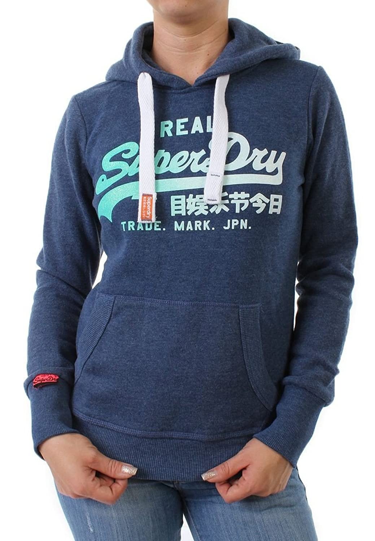 Superdry Sweater Women VINTAGE LOGO SIDE FADE Ensign Marl online bestellen