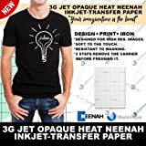 3G JET-OPAQUE 3G HEAT TRANSFER PAPER 11 x 17 CUSTOM PACK 50 SHEETS by NEENAH PAPER (Tamaño: 11-x-17-Inch)