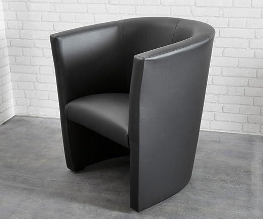 Sessel Goya Schwarz Cocktailsessel Lounge Möbel