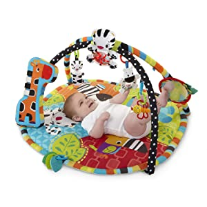 Bright Starts Start Your Senses Safari Activity Gym Spots and Stripes