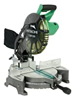 Hitachi C10FCE2 15-Amp 10-inch Single Bevel Compound Miter Saw via Amazon