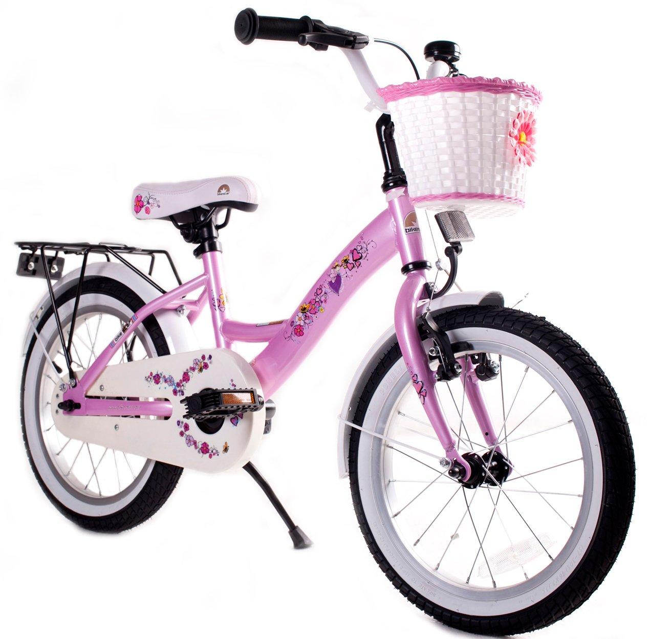 BIKESTAR® Premium Kinderfahrrad für sichere und sorgenfreie Spielfreude ab 4 Jahren ★ 16er Classic Edition ★ Märchenhaft Pink online bestellen