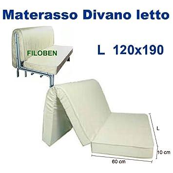 Materassi Divano Letto Prezzi.Materasso Divano Letto 120x190 H10 Con Piega Su Seduta Best Buy