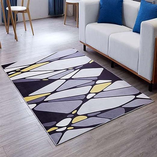 Home estudio sofá alfombra mesa de centro Alfombras nórdicas dormitorio moderno alfombras de la cama alfombras geométricas ( Tamaño : 1.6*2.3m )