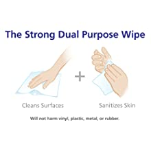 PURELL 9118-02 Sanitizing Wipes, 1,200 Count Refill (Pack of 2)