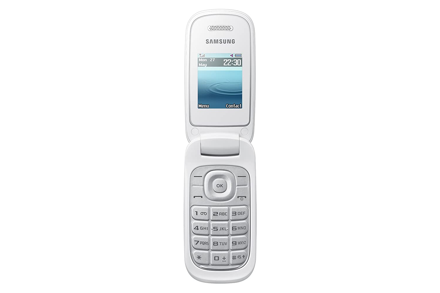 samsung e1270 sim flip mobile phone unlocked cheap basic cheapest white ebay. Black Bedroom Furniture Sets. Home Design Ideas