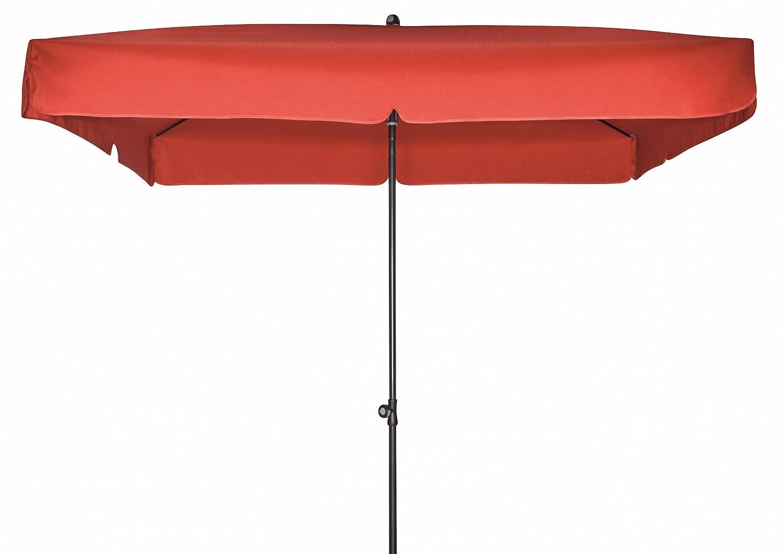 Doppler Gartenschirm Sun Line III 200×200 quadratisch mit UV-Schutz 50, Farbe rot jetzt kaufen