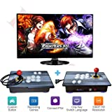 PinPle Arcade Game Console 1080P 3D & 2D Games 2020 in 1 Pandora's Box Kit Classic Arcade Game Machine 2 Players Arcade Machine Arcade Joystick Support Expand 6000+ Games for King of Fighters (Color: King of Fighters)