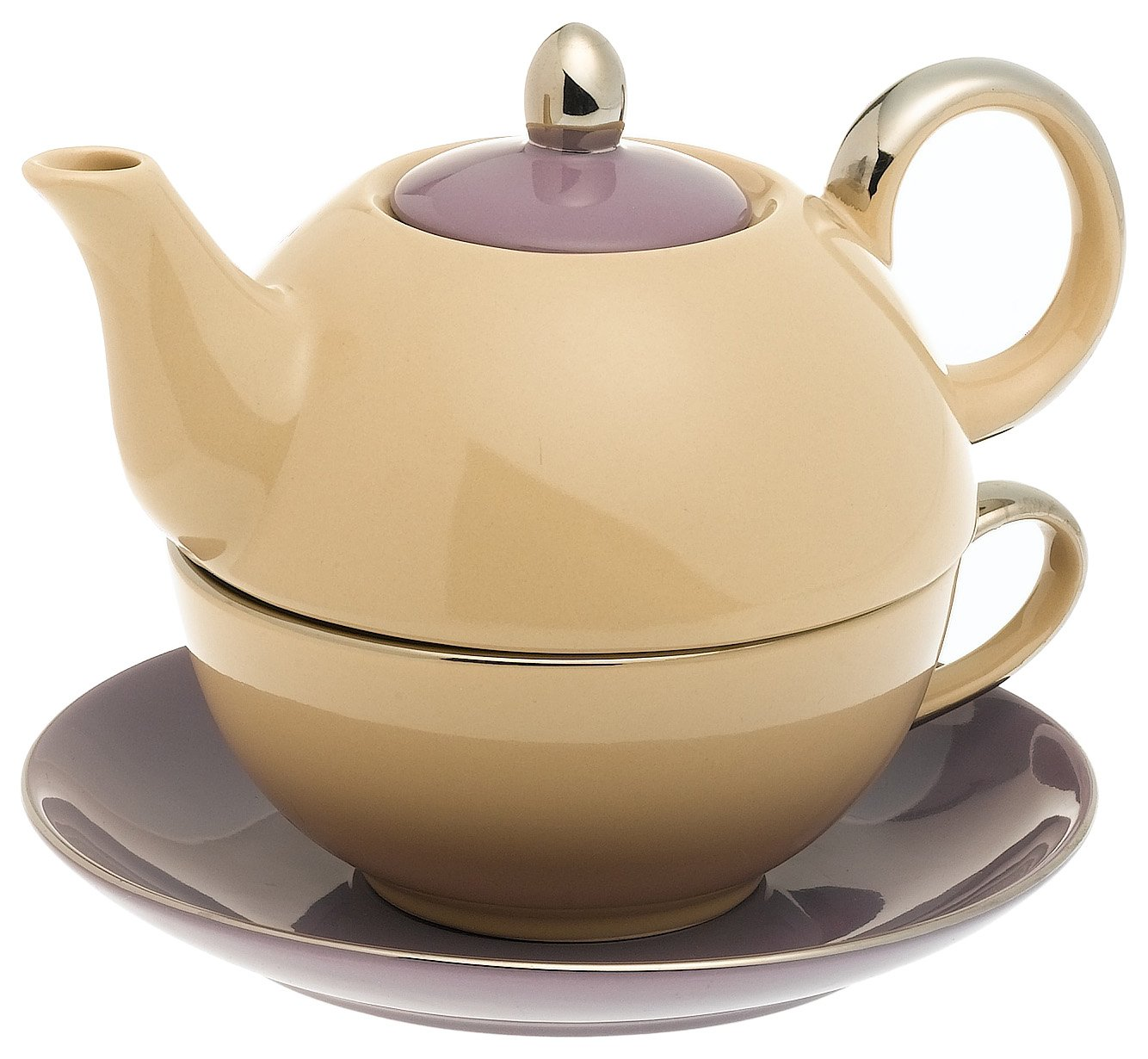 Siena 14 oz. Tea for One with Saucer