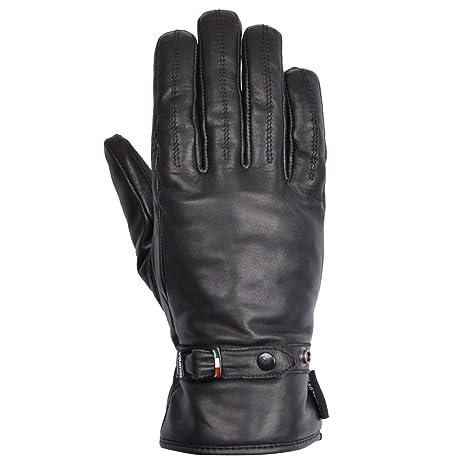 V Quattro Design V4G-FENICE-BKL Gants de Moto Fenice Noir Taille L