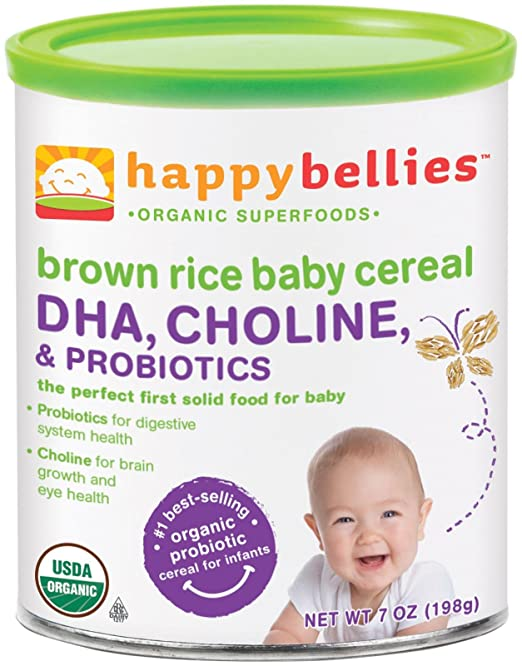 best organic baby cereal on the market