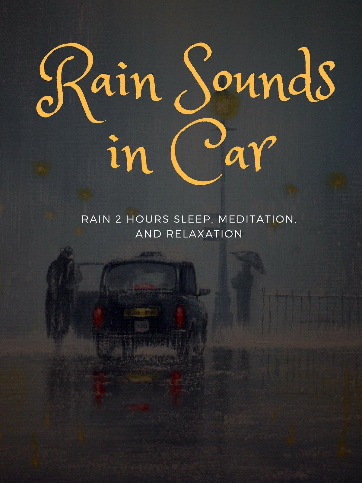 Rain Sounds in Car