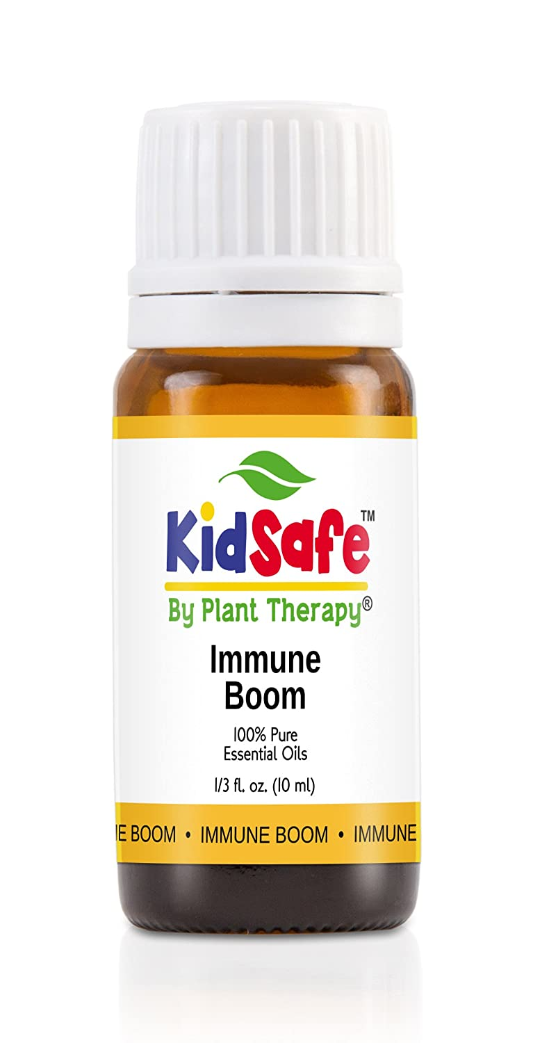 KidSafe Immune Boom Synergy Essential Oil Blend, Undiluted, Therapeutic Grade kidsafe immune boom synergy essential oil blend undiluted therapeutic grade