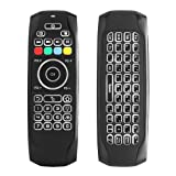 Air Mouse, STRQUA Air Remote Mouse G7 Backlit, 2.4G Wireless Kodi Remote Control,Mini Wireless Keyboard & Infrared Remote Control Learning, Best for Android Smart Tv Box HTPC IPTV PC Pad (G7 Backlit) (Color: G7 Backlit, Tamaño: small)