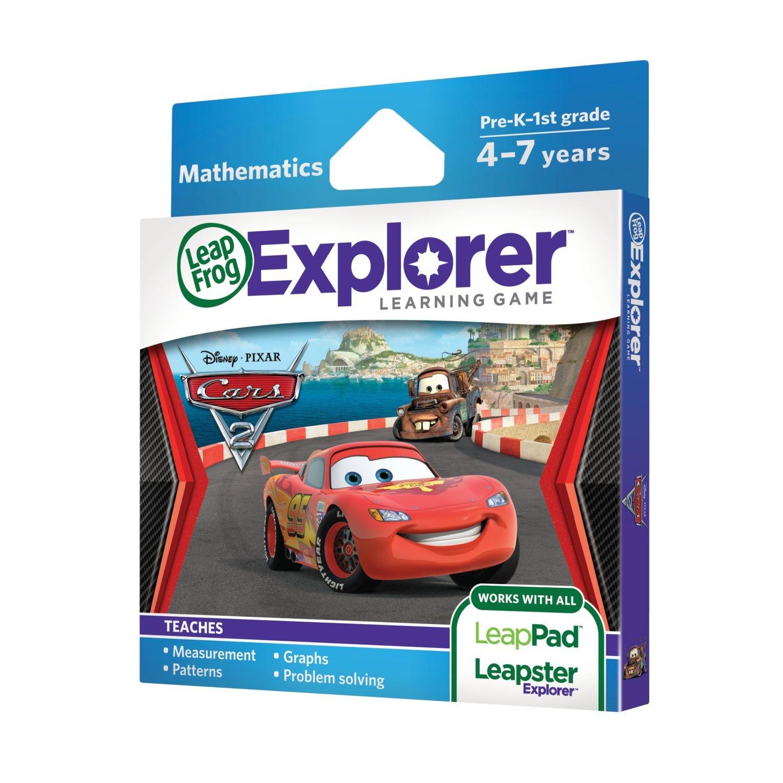 Leapfrog Explorer Learning Game Disney Pixar Cars