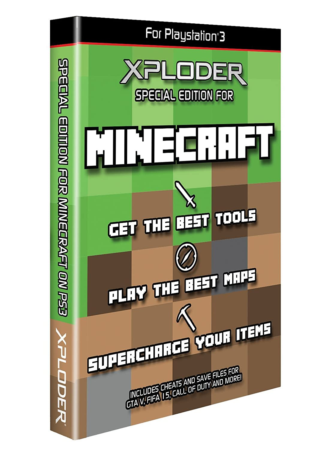 Info for Xploder Special Minecraft Edition cheat system for
