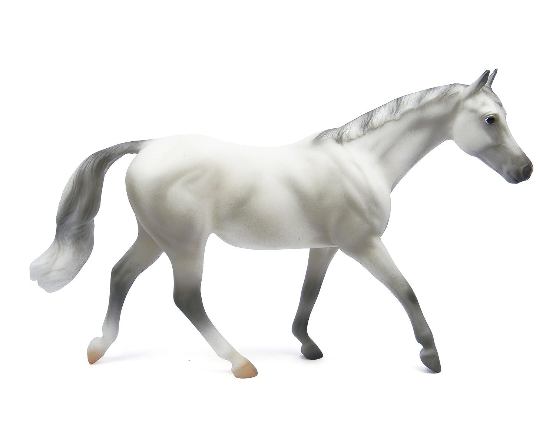 breyer grey selle francais classics toy horse new free