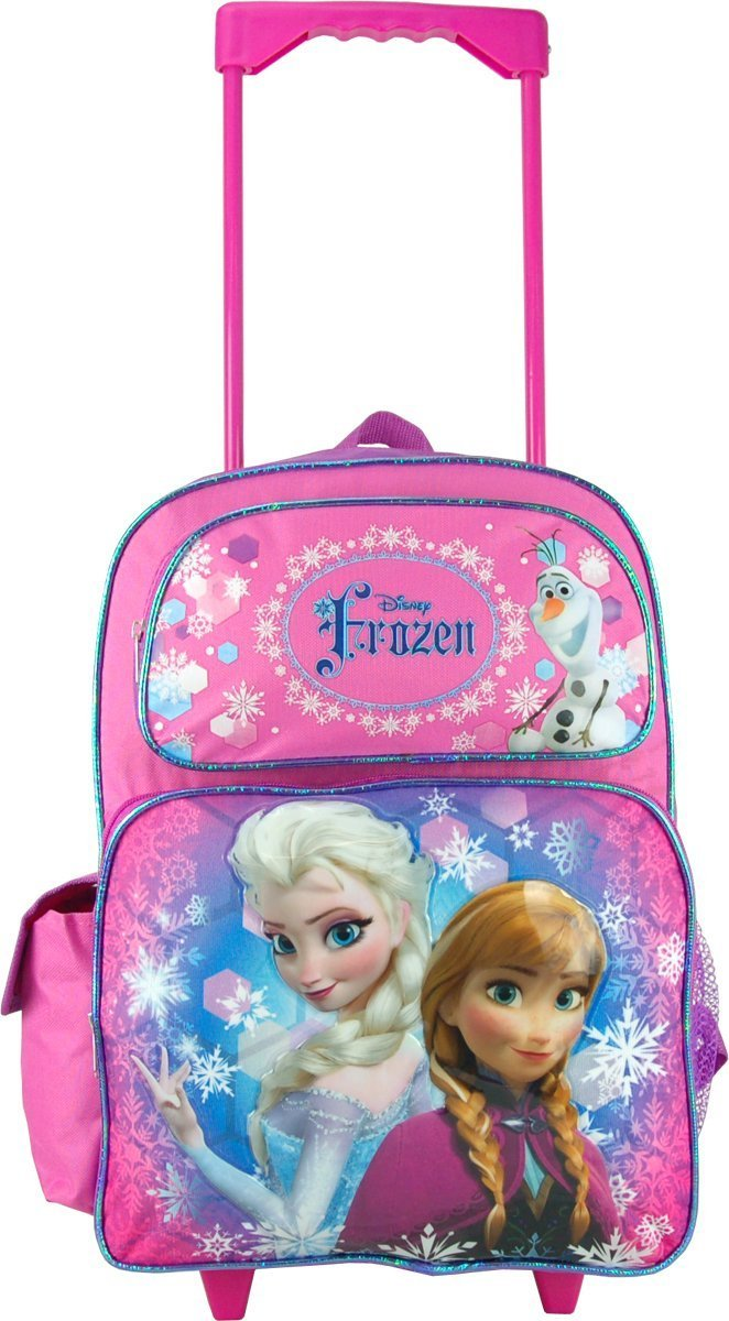 Disney Frozen 16 Large Rolling Backpack