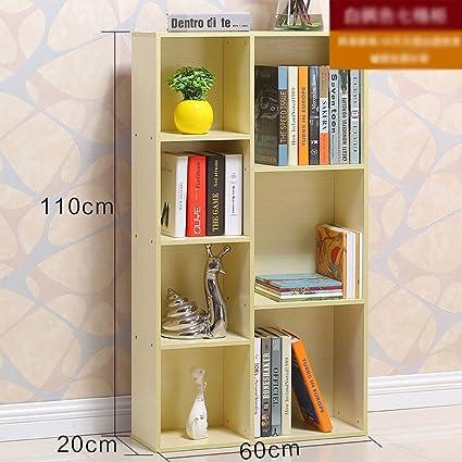 Librería sencilla mesa titular marco simple estudiante combinación escritorio mesa piso creativo niños librería pequeño ( Color : D )