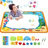Water Drawing Aquadoodle Magic Mat - TFS Kid Painting Writing Color Doodle Board Toys with Magic Pens, Educational Learning Mats Best Xmas Gift for Toddlers Boys Girls Age of 2,3,4,5,6 Year Old (Tamaño: 34.5