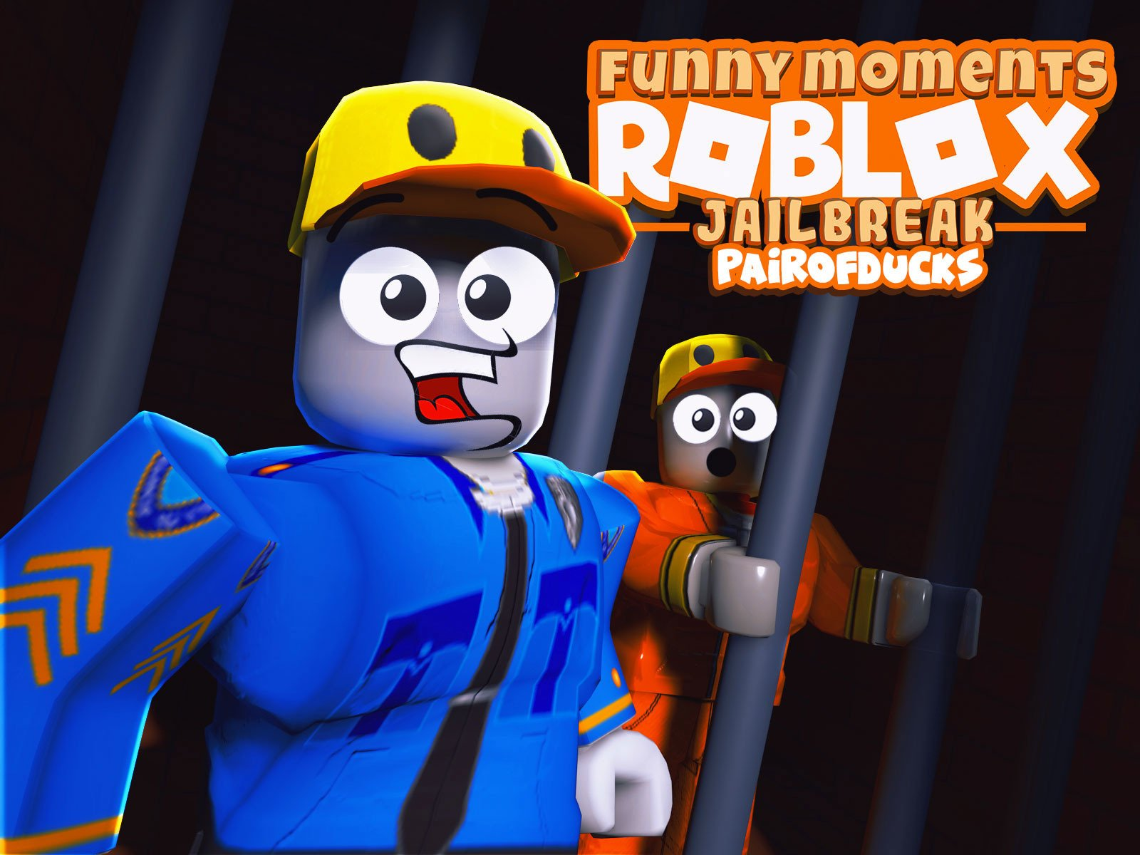 Clip: Roblox Jailbreak (PairOfDucks Funny Moments) - Season 2