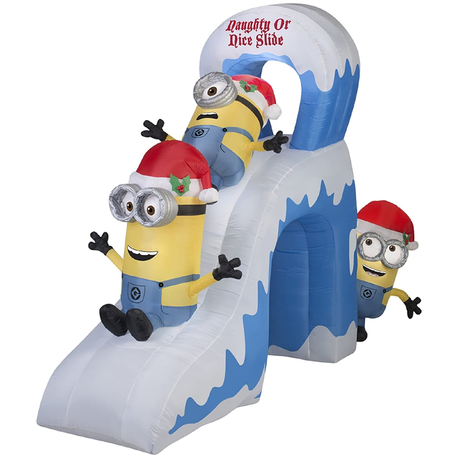Minions Outdoor Christmas Inflatables Christmas Wikii