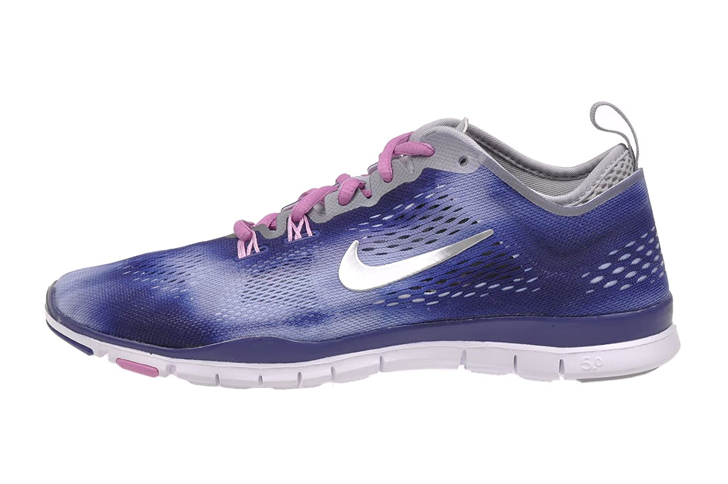 Nike Free TR Fit Womens Running Shoe Silver Grey | Mormon Gender