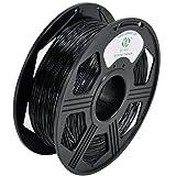 YOYI 1.75mm Flexible TPU Filament 3D Printer Filament Diameter Tolerance +/- 0.03 mm, 0.8KG Spool,Black 1.75 mm TPU Filament (Color: Black)