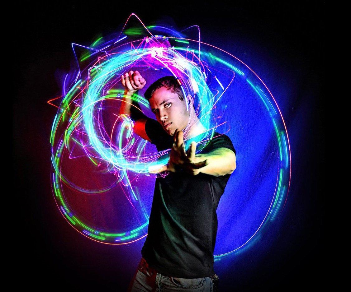 Light Orbit LED Rave Toy