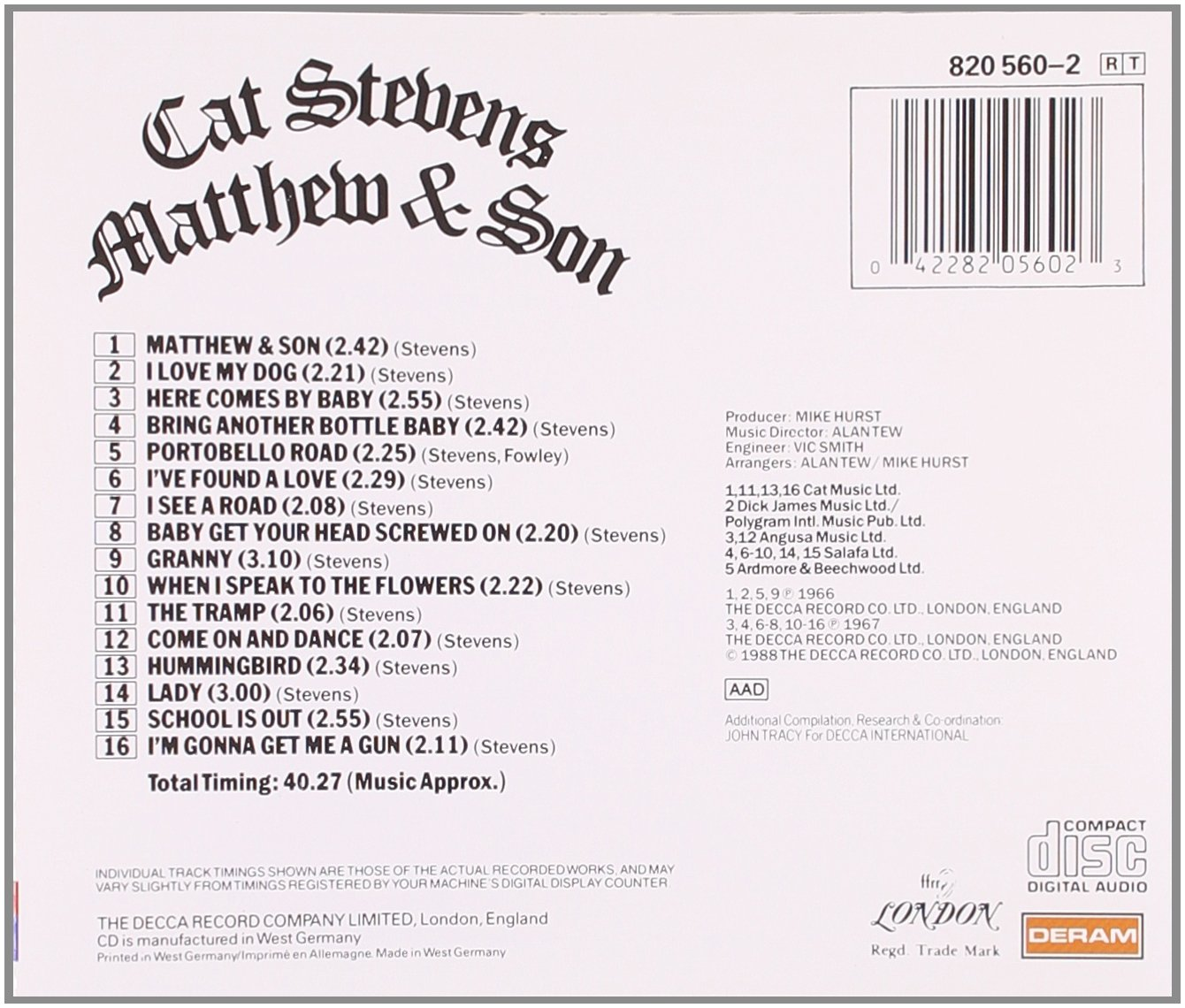 Cat Stevens 71HtMvums4L._SL1340_