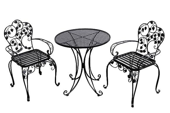 Stile metallo antico guarnizione guarnizione di mobili da giardino Garden Cafe