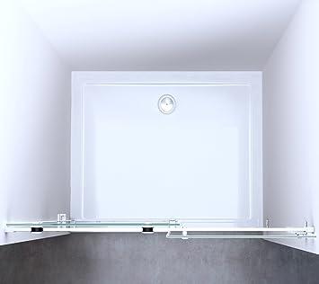 porte de douche coulissante paroi paroi de douche pare douche verre verre de s curit. Black Bedroom Furniture Sets. Home Design Ideas