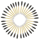 KingsArchery® Crossbow Arrows Aluminum (36 Pack) 6 inch bolts in Black and Gold for Hunting Crossbow Pistol Precision Target Arrow + KingsArchery® Warranty (Color: Gold)