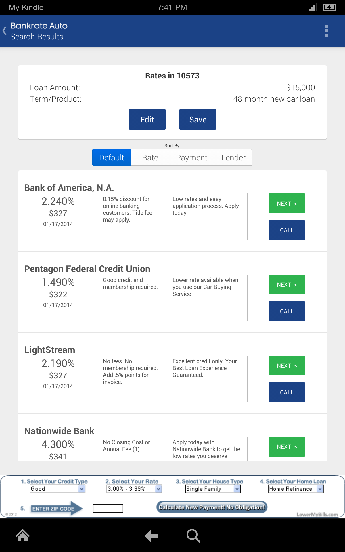 Bankrate auto loan calculator with extra payments 15