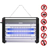 Greatever Bug Zapper & Electric Indoor Flying Insect Killer Mosquito & Fly Killer – Powerful 2800V Grid 20W Bulbs – For Residential, Commercial and Industrial Use