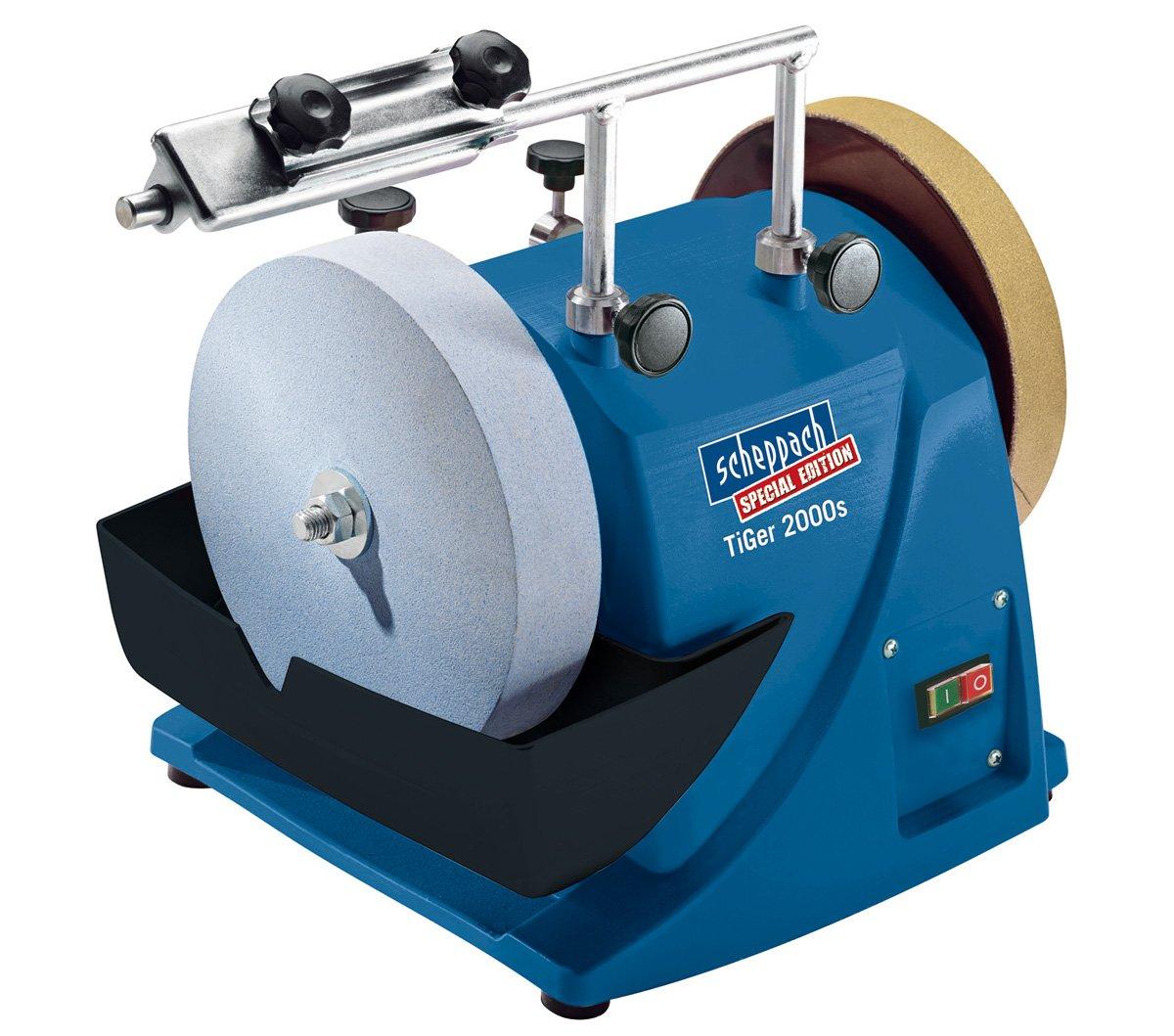 Schleifmaschine TiGer 2000s Nass Schleifer 200mm  Kundenbewertung und Beschreibung